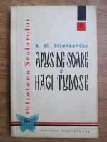 Barbu Stefanescu Delavrancea - Apus de soare si Hagi Tudose