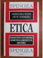 Baruch Spinoza - Etica