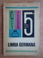 Basilius Abager - Limba germana. Manual pentru clasa a V-a (1971)