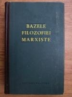 Bazele filozofiei marxiste