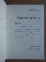 Anticariat: Bazil Gruia - Copacul ascuns (cu autograful autorului)