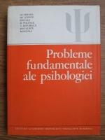 Beniamin Zorgo - Probleme fundamentale ale psihologiei