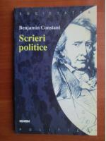 Benjamin Constant - Scrieri politice
