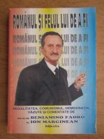 Anticariat: Benjamin Faoro - Romanul si felul lui de a fi