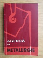 Benno Nachbar - Agenda de metalurgie 1959
