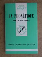 Bertil Malmberg - La phonetique