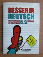 Anticariat: Besser in deutsch, nr. 8-9