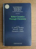 Anticariat: Better ceramics through chemistry