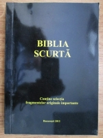 Anticariat: Biblia scurta