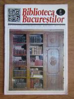 Anticariat: Biblioteca Bucurestilor, Numarul 8 august 2000
