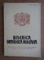 Biserica Ortodoxa Romana, anul XCIV, nr. 3-4 martie-aprilie 1976