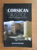 Bluette Matthey - Corsican justice