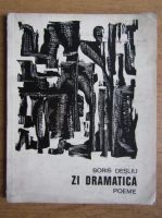 Anticariat: Boris Desliu - Zi dramatica. Poeme