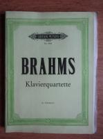 Brahms - Klavierquartette