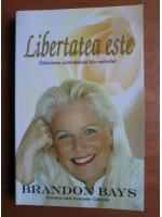 Anticariat: Brandon Bays - Libertatea este eliberarea potentialului tau nelimitat