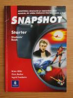 Anticariat: Brian Abbs - Snapshot. Starter, students book