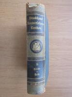 Anticariat: Brockhaus' Konaerlations Lexikon (volumul 8, 1894)