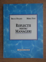 Anticariat: Bruce Hyland - Reflectii pentru manageri