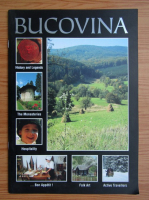 Bucovina. History and legends, the monasteries, hospitality, bon appetit, folk art, active travellers