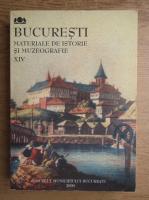 Anticariat: Bucuresti. Materiale de istorie si muzeografie (volumul 14)