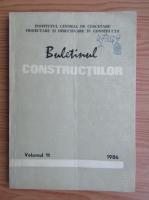 Anticariat:  Buletinul constructiilor (volumul)