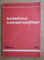 Buletinul constructiilor
