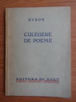 Anticariat: Byron - Culegere de poeme (1949)