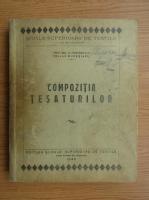 C. Casassovici - Compozitia tesaturilor (1940)