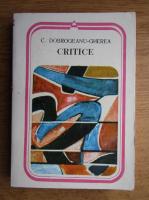 Anticariat: C. Dobrogeanu Gherea - Critice, Studii si articole