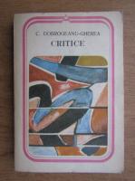 C. Dobrogeanu Gherea - Critice
