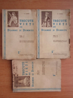 Anticariat: C. Gane - Trecute vieti de doamne si domnite (3 volume, 1941)