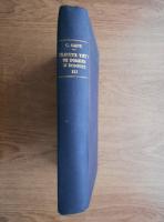 C. Gane - Trecute vieti de doamne si domnite. De la restabilirea domnilor pamanteni pana la Unirea Principatelor, 1822-1859 (volumul 3)