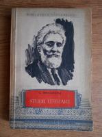 C. Ibraileanu - Studii literare