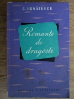 C. Ignatescu - Romante de dragoste
