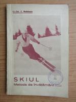 Anticariat: C. Medeleanu - Skiul. Metoda de invatamant (1942)