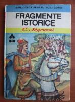 Anticariat: C. Negruzzi - Fragmente istorice