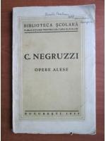 C. Negruzzi - Opere alese (1935)
