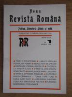 Anticariat: C. Radulescu-Motru - Noua Revista Romana, politica, literatura, stiinta si arta, nr. 1, aprilie 1996