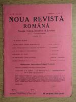 C. Radulescu-Motru - Noua Revista Romana. Sociala, critica, stiintifica si literara, vol. XVIII, nr. 11, 10-17 iulie 1916