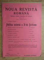 Anticariat: C. Radulescu-Motru - Noua Revista Romana. Sociala, critica, stiintifica si literara, vol. XVIII, nr. 12, 24-31 iulie 1916