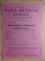 Anticariat: C. Radulescu-Motru - Noua Revista Romana. Sociala, critica, stiintifica si literara, vol. XVIII, nr. 4, 3-10 aprilie 1916