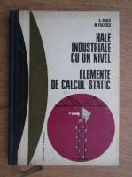 C. Rusca - Hale industriale cu un nivel, elemente de calcul static