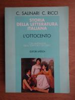 Anticariat: C. Salinari - Storia della letteratura italiana. L'ottocento con antologia degli scrittori e dei critici
