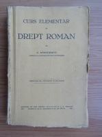 Anticariat: C. Stoicescu - Drept roman (1931)