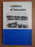 Anticariat: Cahiers d'histoire