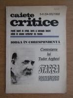 Caiete critice, nr. 5-6 (54-55) 1992