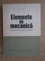 Anticariat: Caius Iacob - Elemente de mecanica