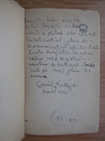 Anticariat: Camil Baltazar - Poeme vechi si noi (cu autograful autorului, 1931)