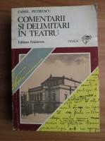Camil Petrescu - Comentarii si delimitari in teatru