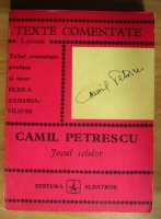 Anticariat: Camil Petrescu - Jocul ielelor